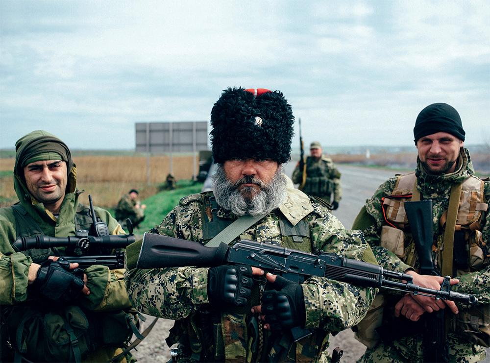 Александр Можаев («Бабай») равным образом боевики ДНР