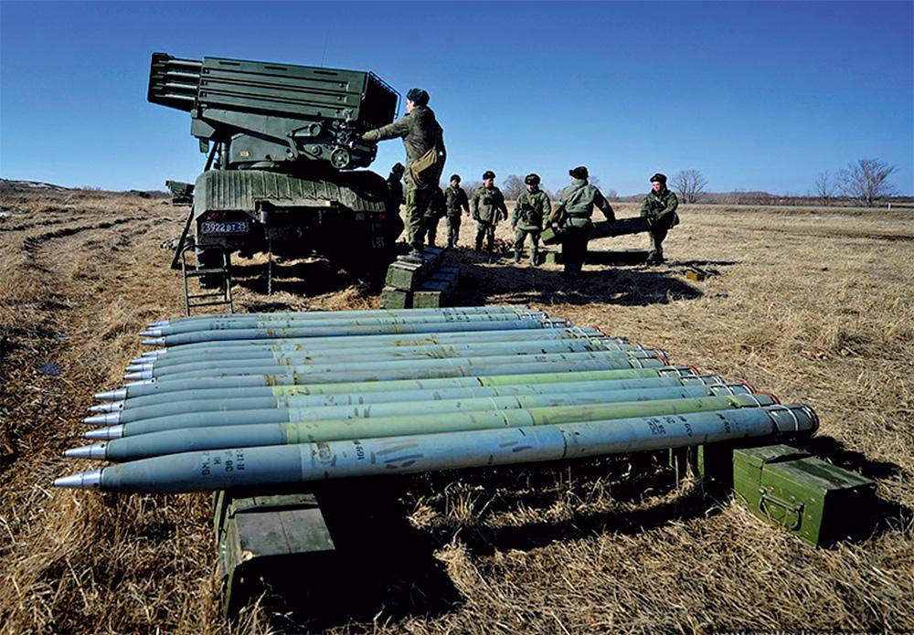 Система залпового огня «Торнадо» российского производства